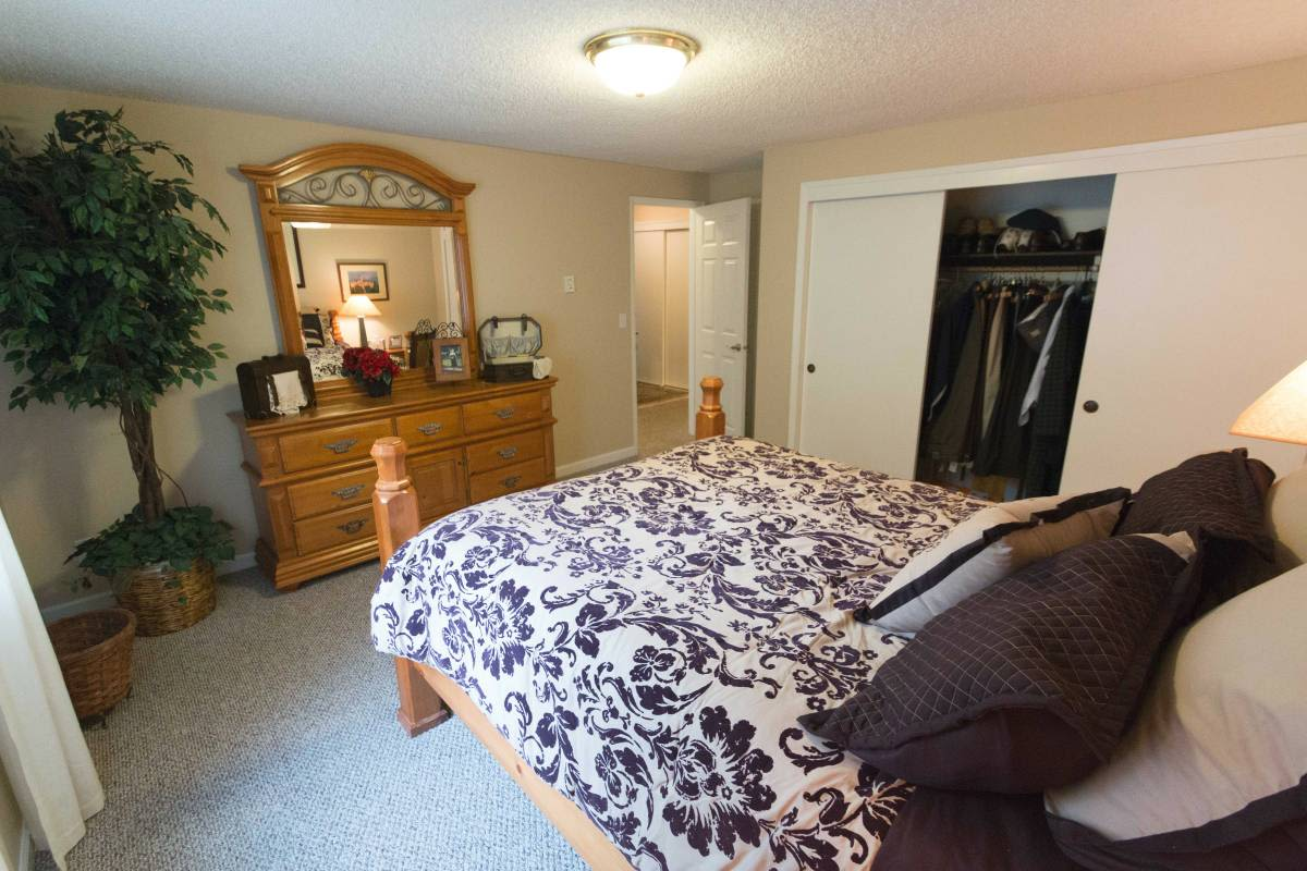 Spacious bedroom at apartments in Vancouver, Washington