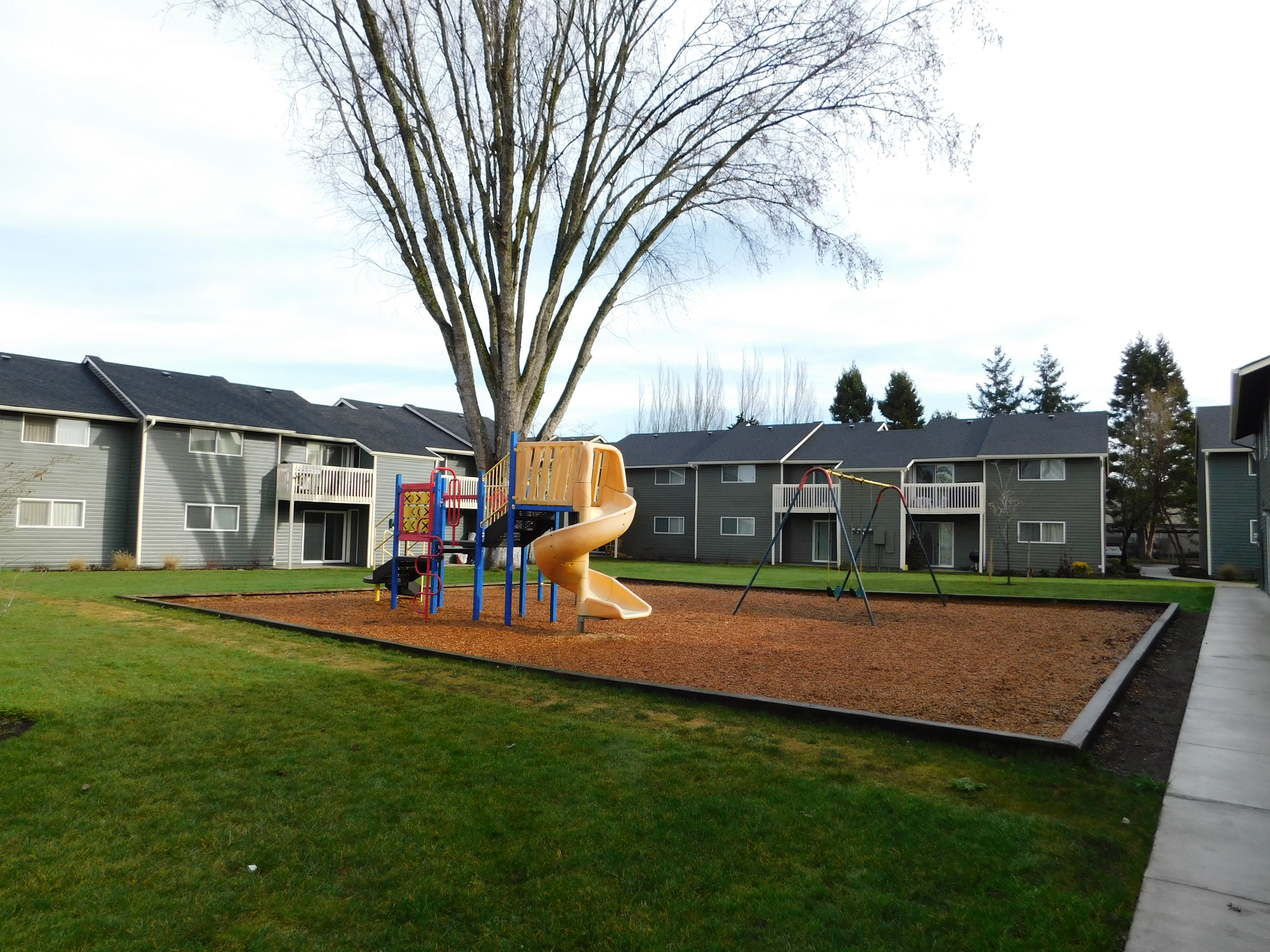 Playground at Chalet in Springfield, Oregon