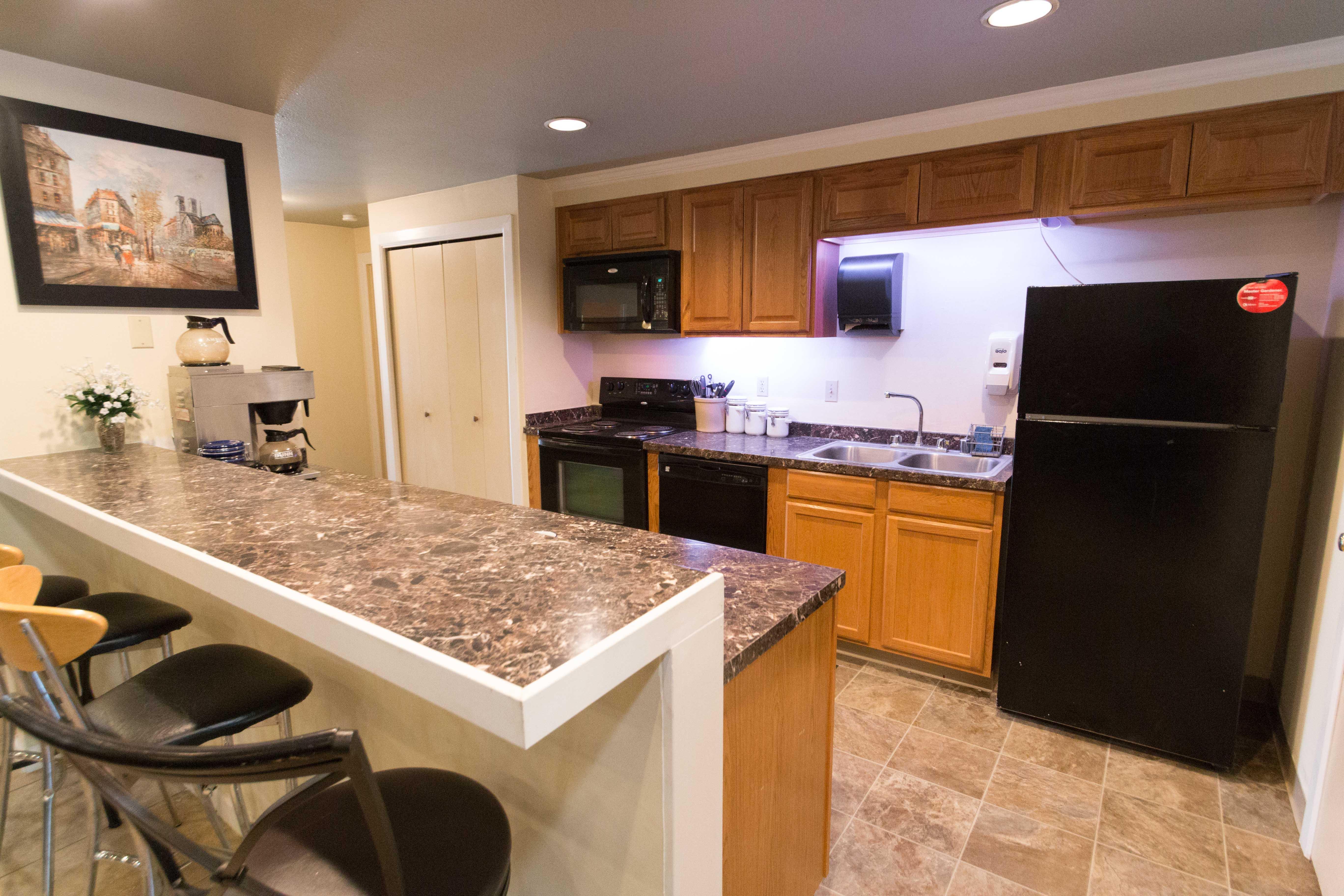 Our apartments in Vancouver, Washington showcase a modern kitchen