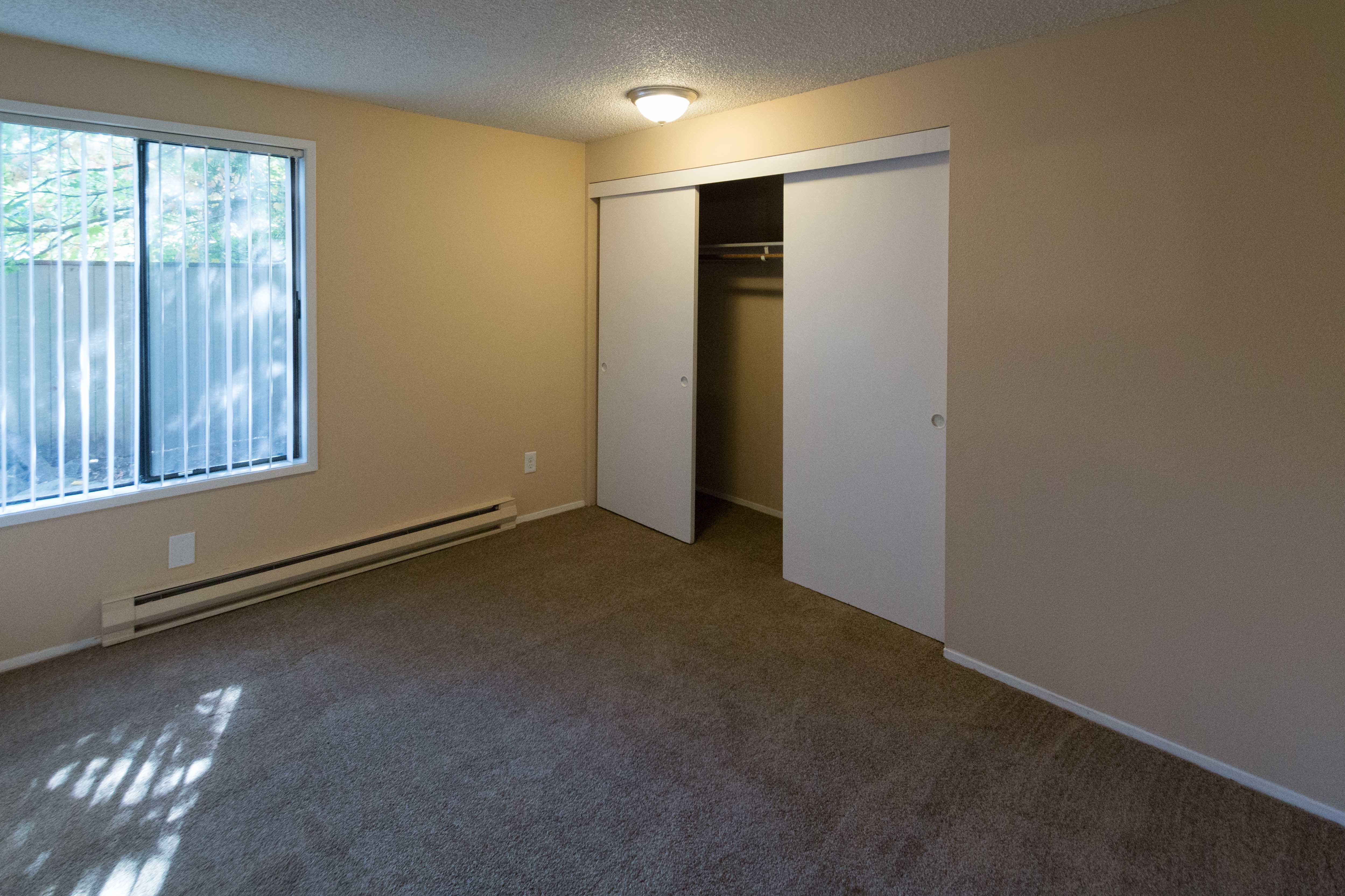 Bedroom at Oakbrook Apartments in Vancouver, Washington