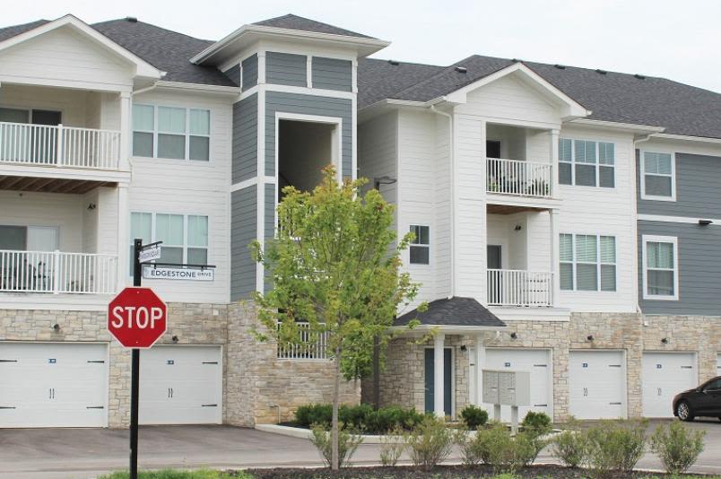 Exterior view of our building at Millstone of Noblesville