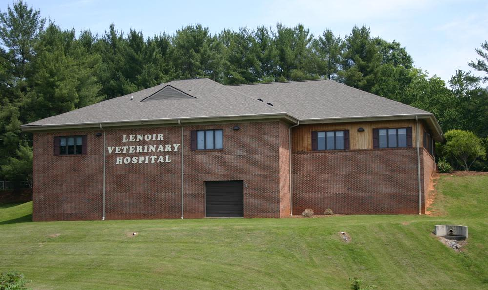 View Of Lenoir Veterinary Hospital From The Highway