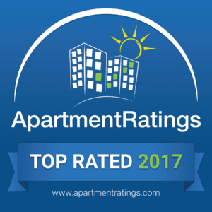 2017 Top Rated Apartment Community by ApartmentRatings.com