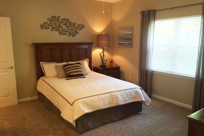 Bedroom at Mill Pond Village Apartments in Salisbury, Maryland