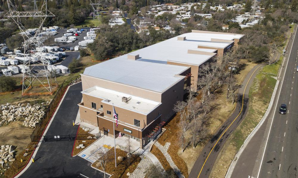 Aerial view at Superior Self Storage