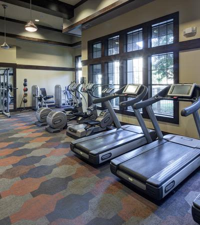 Onsite gym at Terrawood