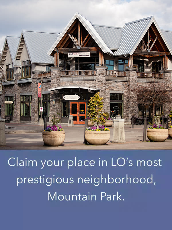 Schedule a tour of MiLO at Mountain Park today to see the neighborhood for yourself!