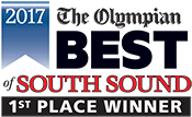 Best of South Sound 2017- 1st Place Winner