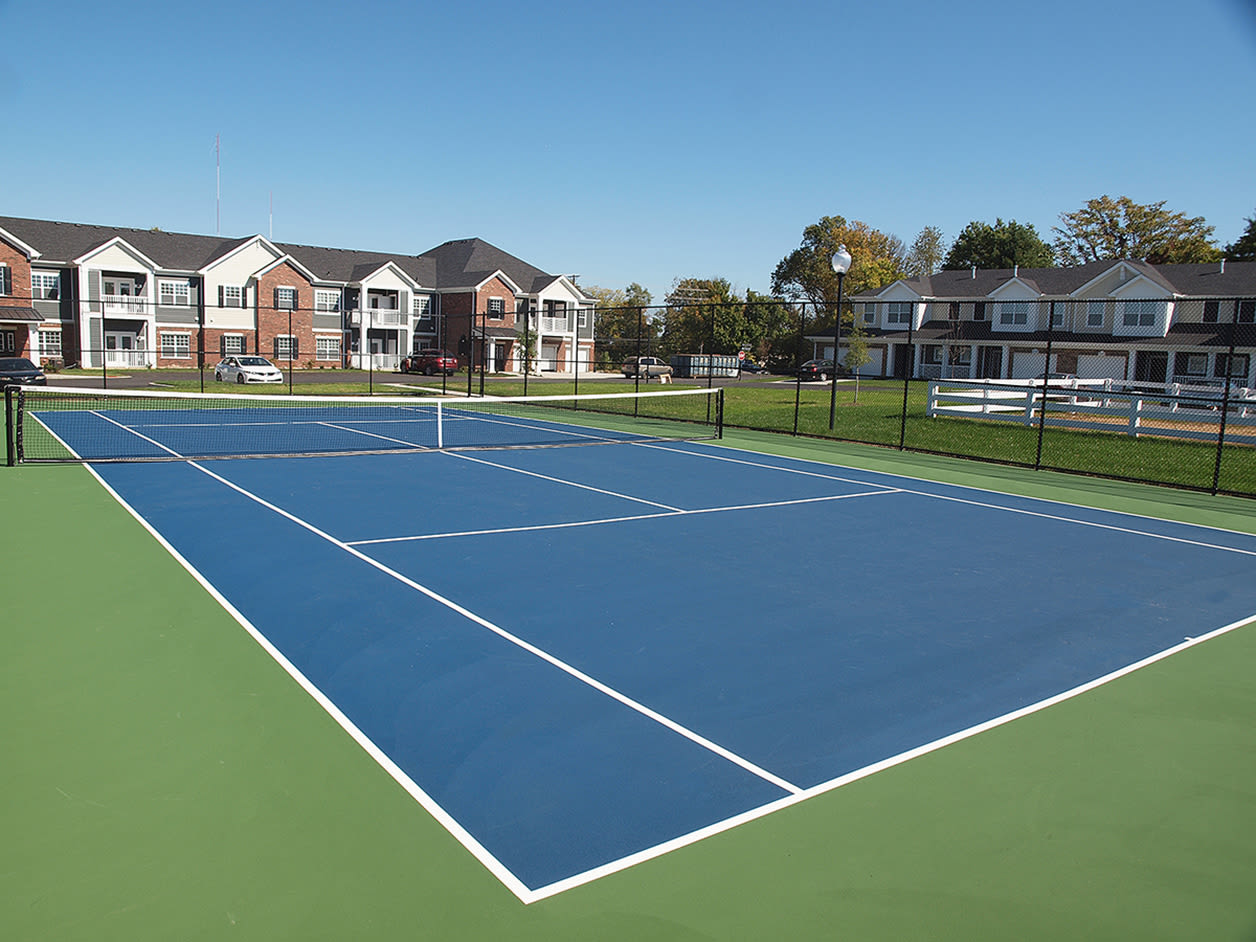 Tennis court at Kendal on Taylorsville in Louisville, Kentucky