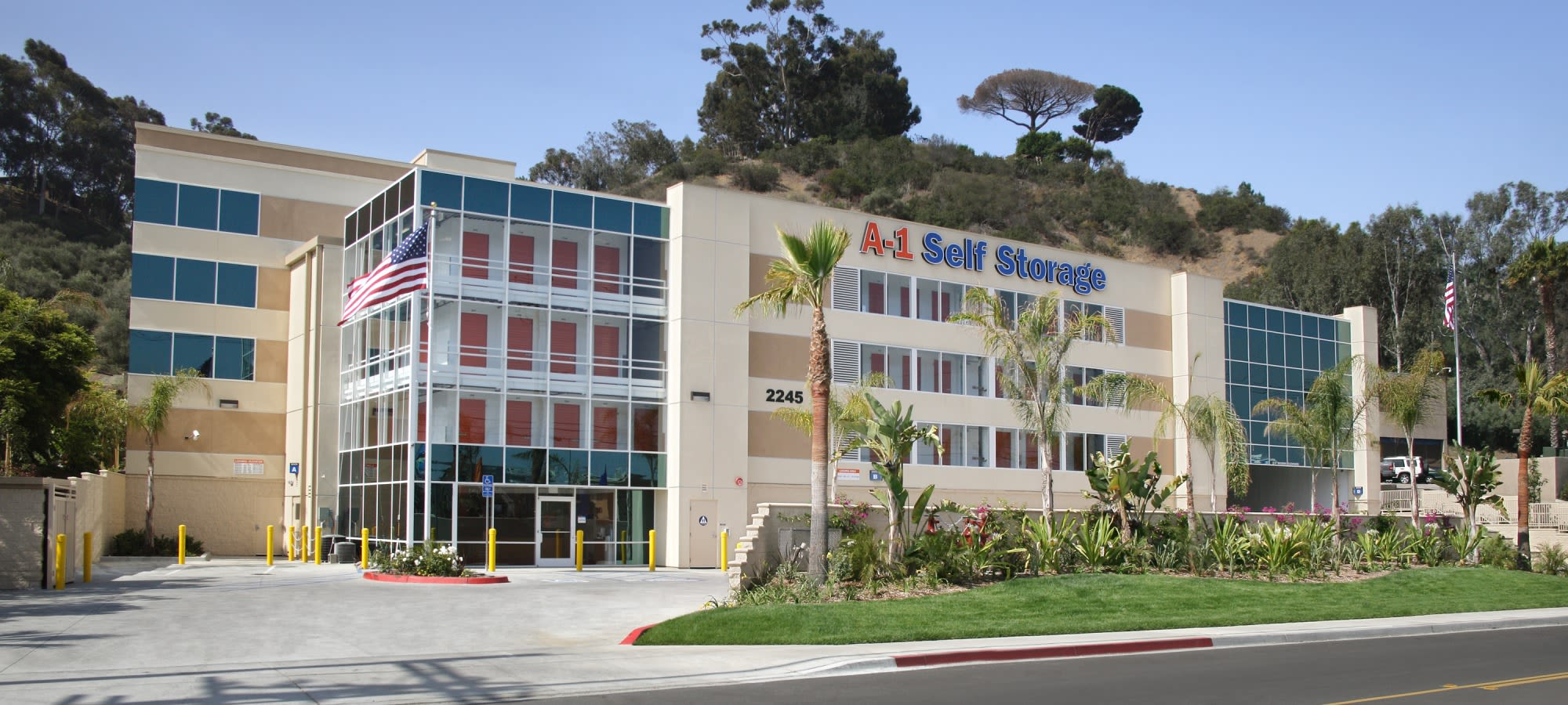 Self storage in San Diego
