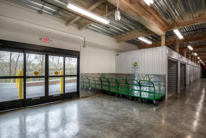 Indoor units at Space Shop Self Storage