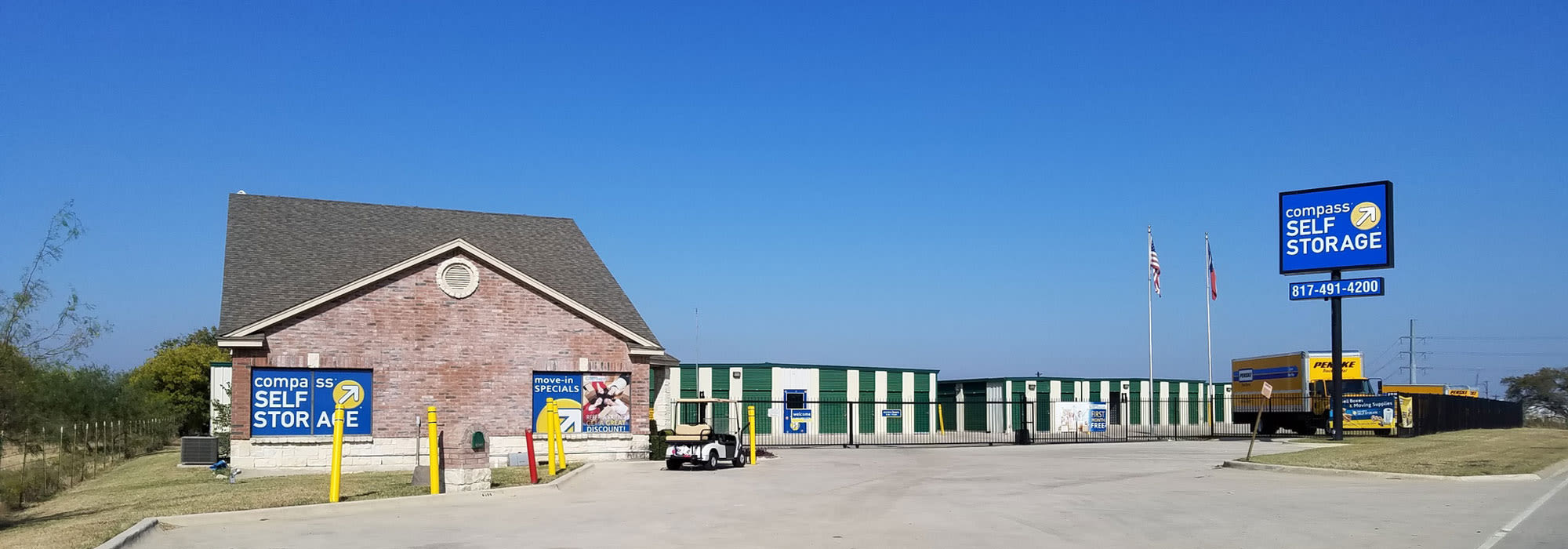 Self storage in Ft. Worth TX