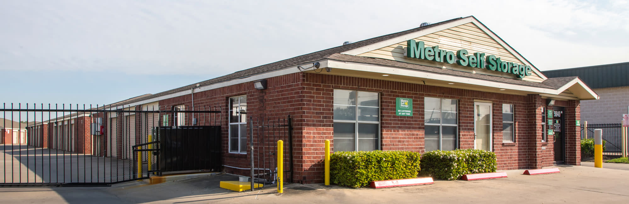 Metro Self Storage in Houston, TX