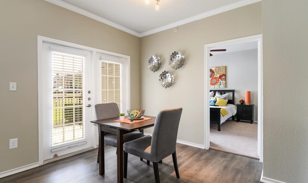 Enjoy our dining room at apartments in Mansfield