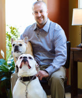 Michael Nadeau, Hospital Manager at Kitsap Veterinary Hospital in Port Orchard, Washington