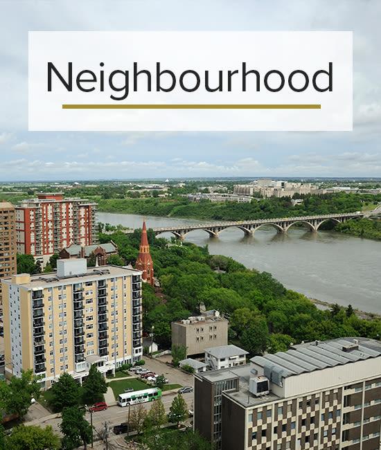 Our Neighbourhood for Saskatoon Tower in Saskatoon, Saskatchewan.