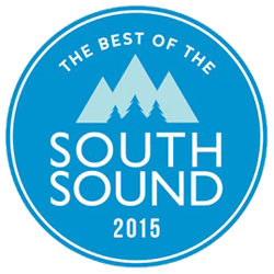 South Sound 2015 Award received by Chambers Creek Veterinary Hospital