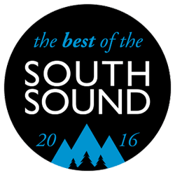 South Sound 2016 Award received by Chambers Creek Veterinary Hospital
