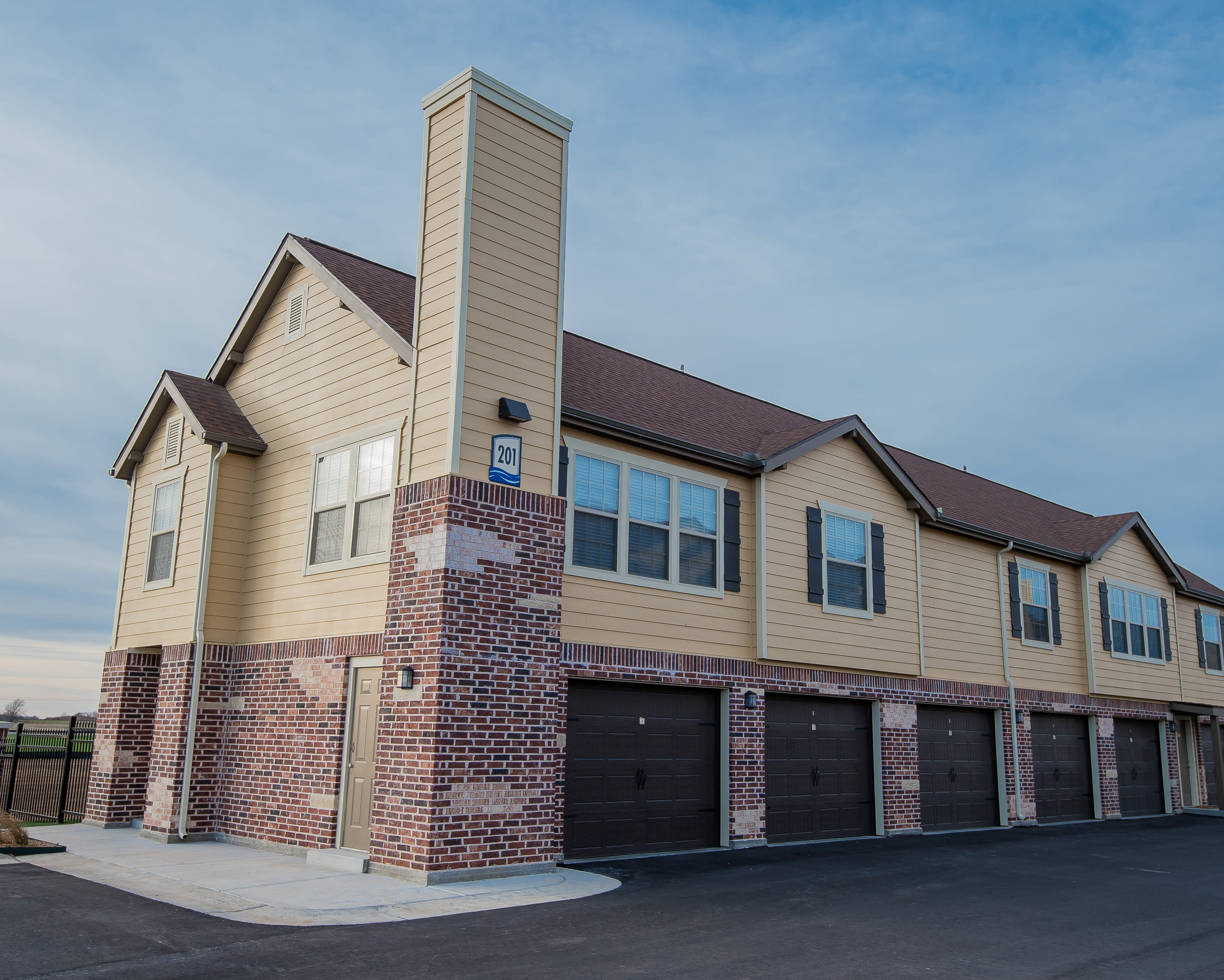 Portico at Friars Creek Apartments offers a garage in Temple, Texas
