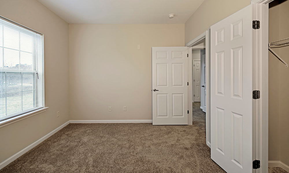 Bright bedrooms at Reserve at Southpointe in Canonsburg