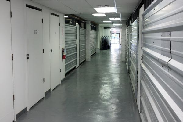 inside storage units at Store It All Self Storage - Kingwood in Kingwood