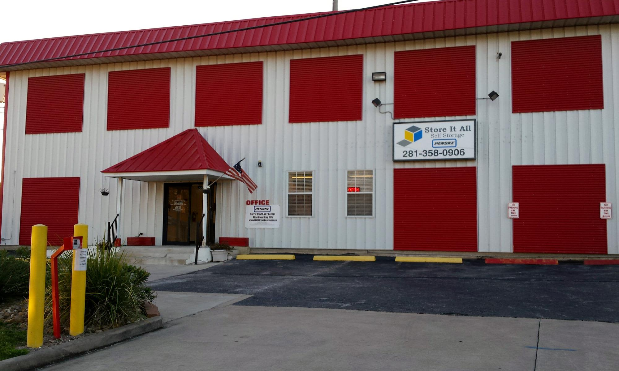 Self storage in Kingwood TX
