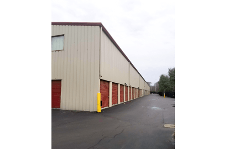 Exterior Storage Unis of StorQuest Self Storage in Shirley