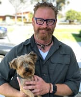 Dr. Corey Cole at Lifetime Animal Care Center in San Diego