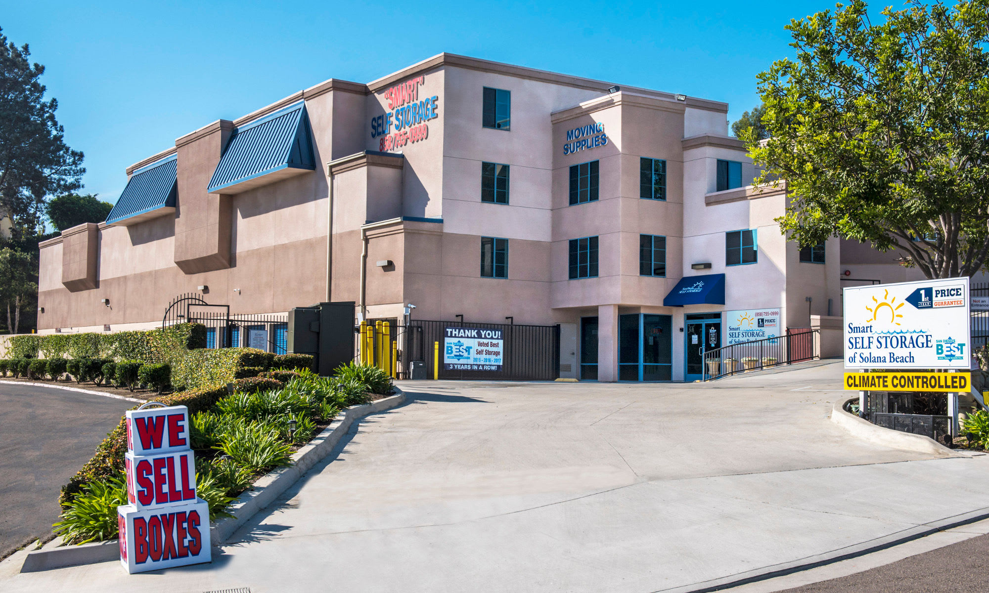 Beau San Diego Self Storage Is Home Of The 1st Year Price Guarantee.