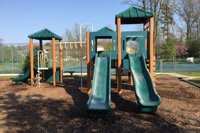 Playground at Mill Pond Village Apartments in Salisbury, Maryland
