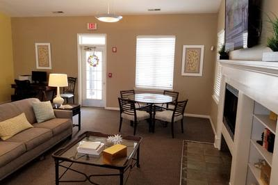 Living Room at Mill Pond Village Apartments in Salisbury, Maryland