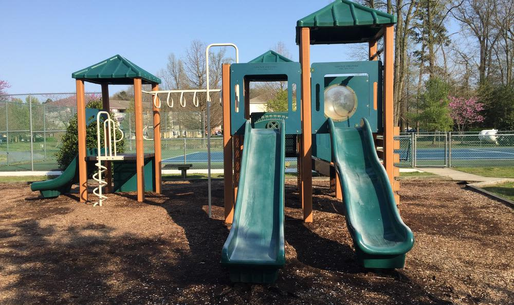 Playground at Mill Pond Village Apartments in Salisbury.