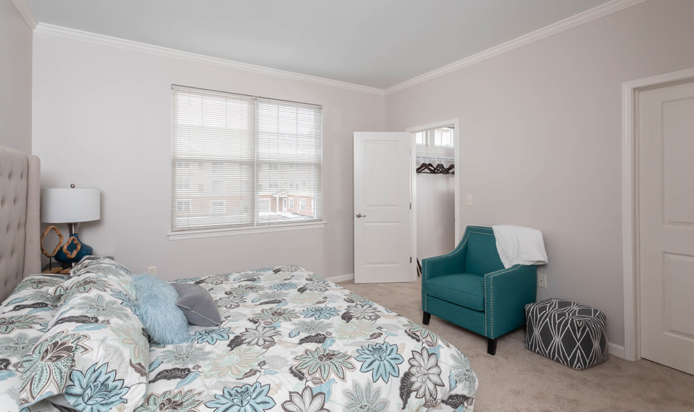 Master Bedroom at North Ponds Apartments in Webster, NY