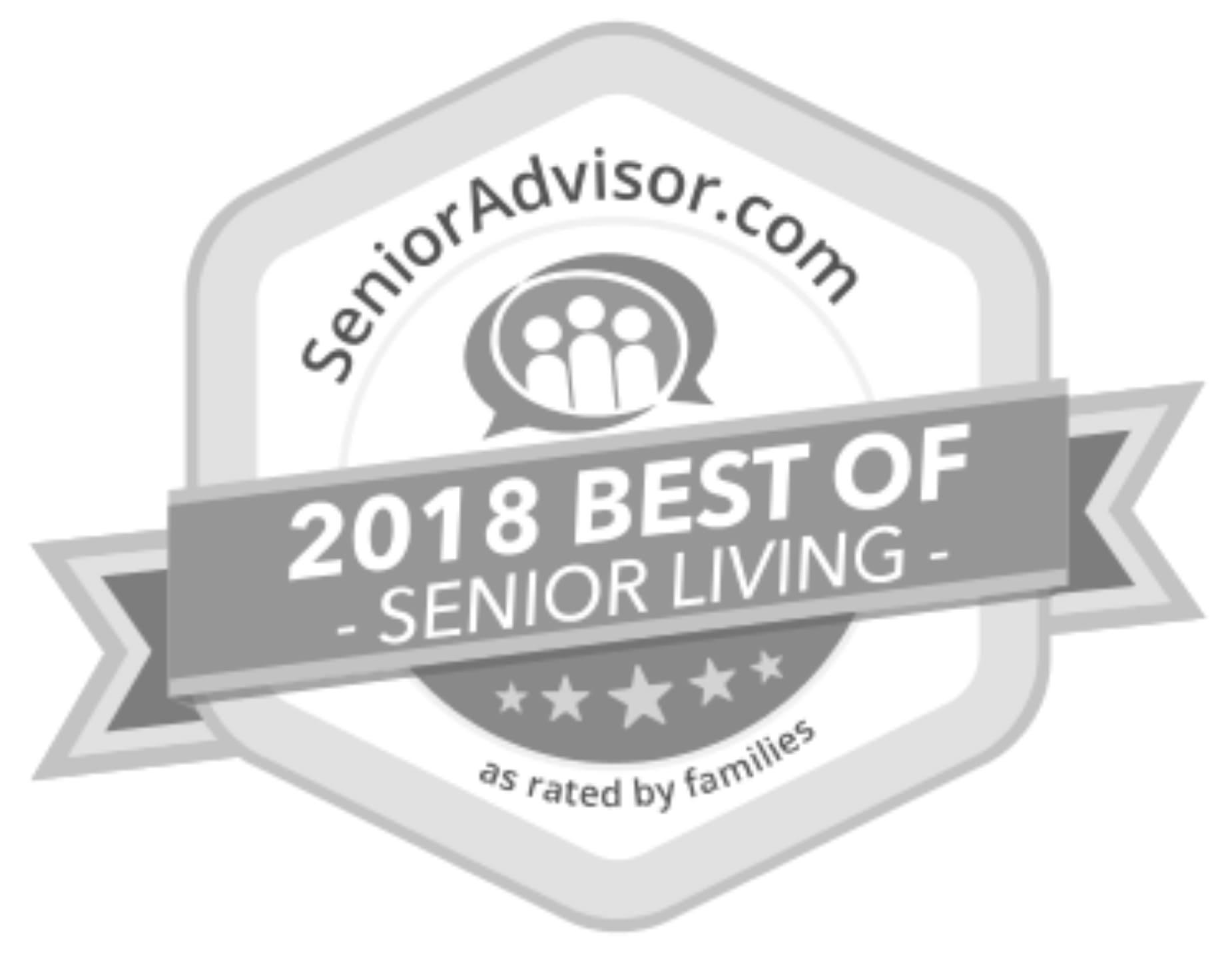 Top-Rated Senior Care Providers by senioradvisor.com