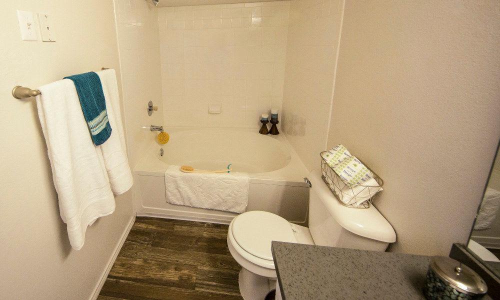 Bathroom at Preston Hollow Apartments