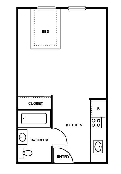 Affordable Studio 1 2 Bedroom Apartments In Las Vegas Nv