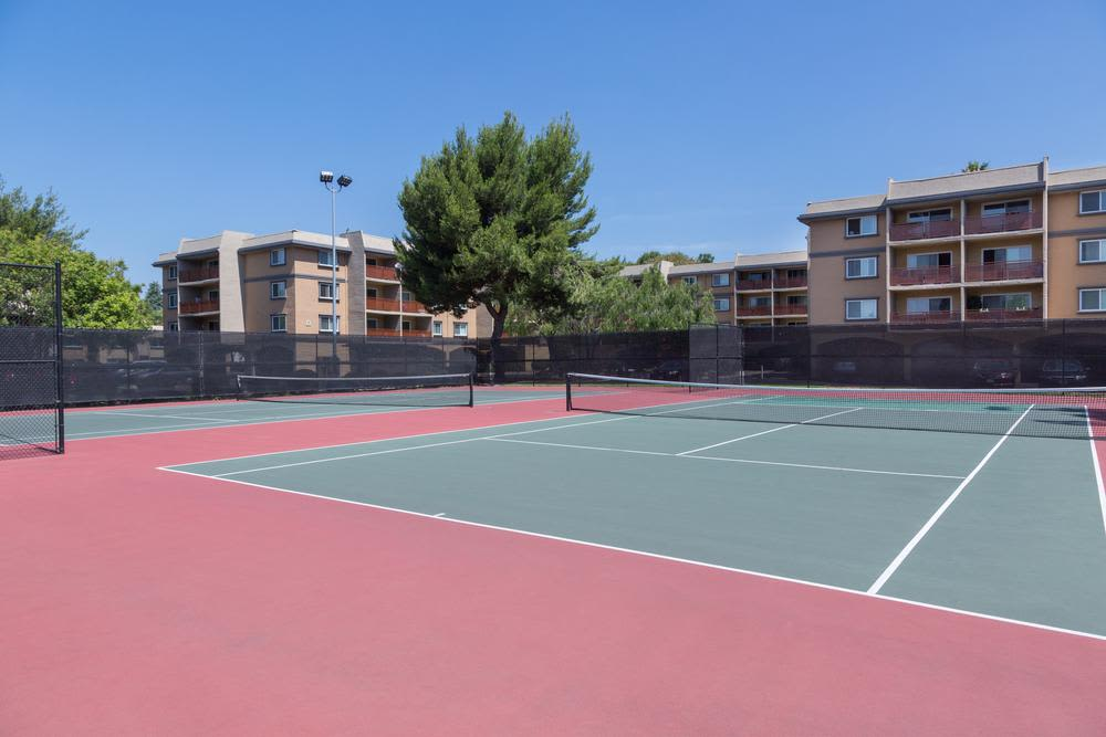 Tennis Court At Waterstone Fremont In Fremont CA
