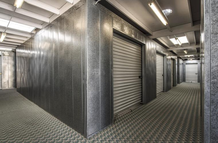 A variety of interior units are offered at Sorrento Mesa Self Storage in San Diego, CA.