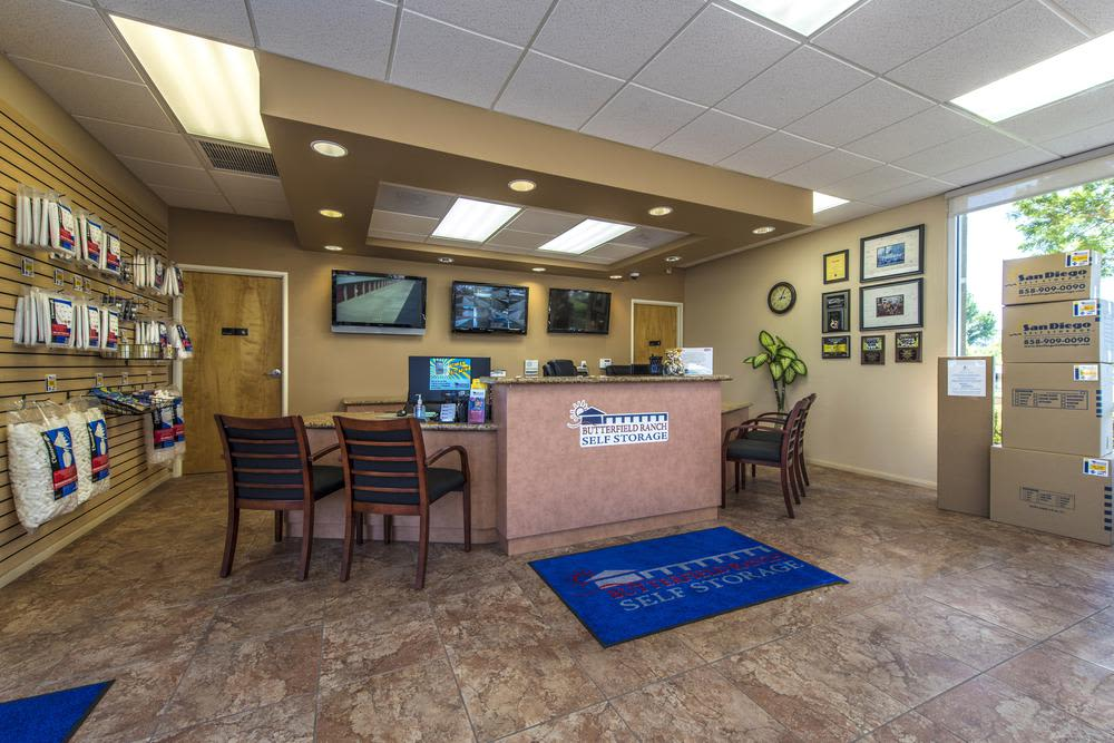 The Office at Butterfield Ranch Self Storage