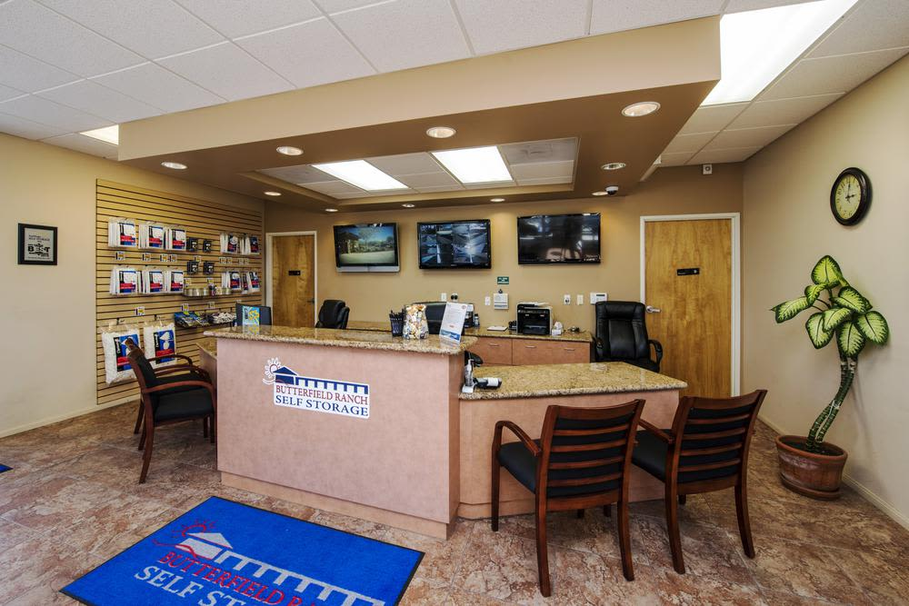 Office at Butterfield Ranch Self Storage