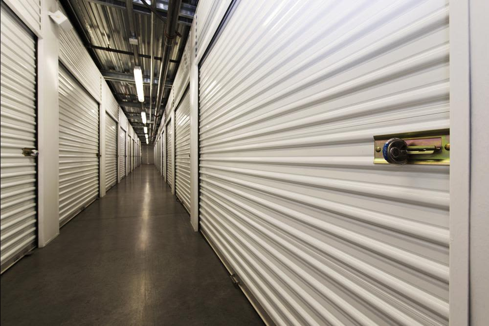 The Interior Aisles Are Always Clean And Clear Of Obstacles At Butterfield  Ranch Self Storage In