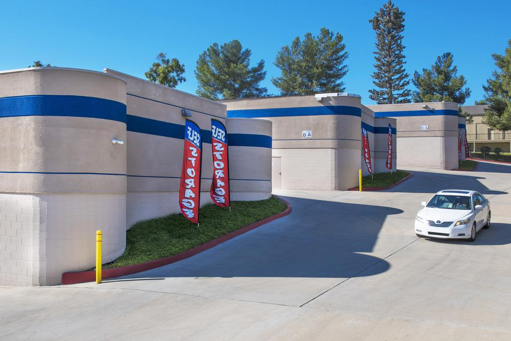 Mira Mesa Self Storage's front office.