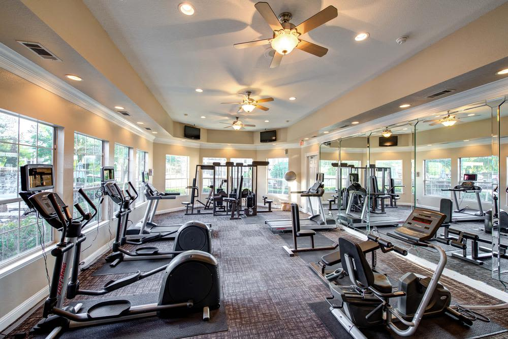 Fitness Center at The Gates at Buffalo Ridge Apartments in Haltom City, TX