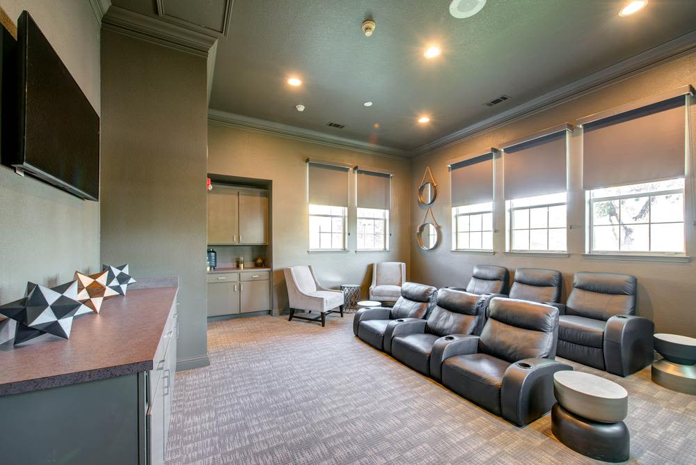 Beautifully furnished common spaces at The Gates at Buffalo Ridge Apartments in Haltom City, Texas