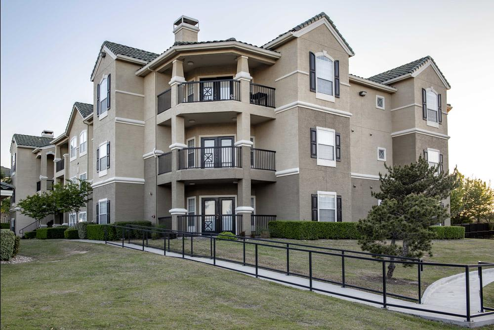 Clubhouse at The Gates at Buffalo Ridge Apartments in Haltom City, Texas