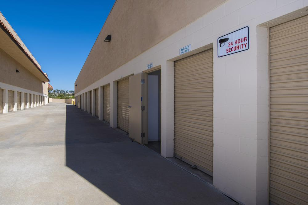 Phenomenal security features at Poway Road Mini Storage Spacious self storage units in Poway