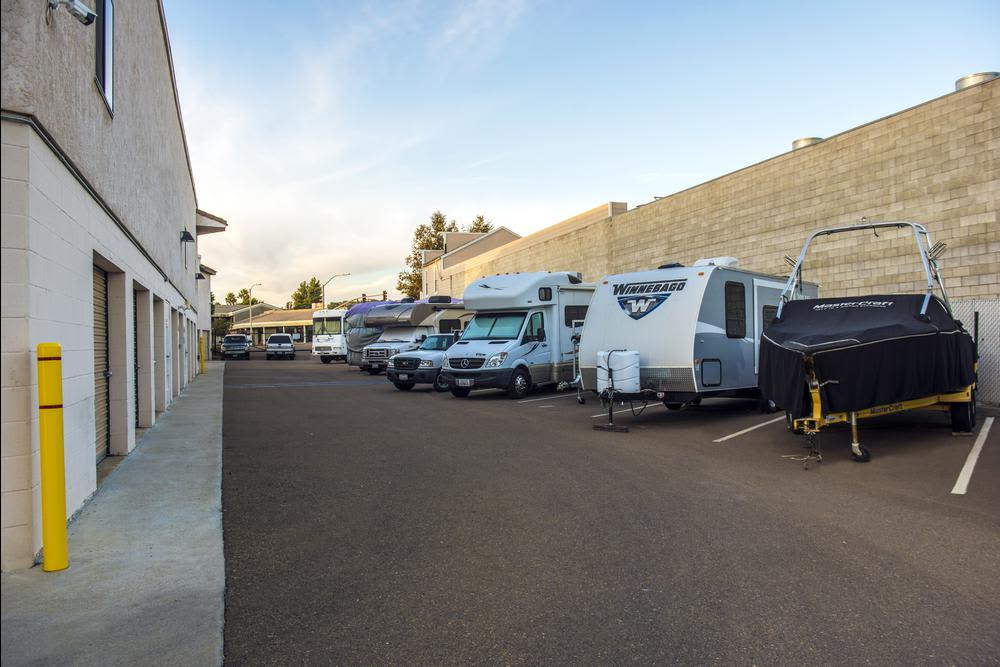 RV and boat storage is available at Poway Road Mini Storage in Poway, CA.
