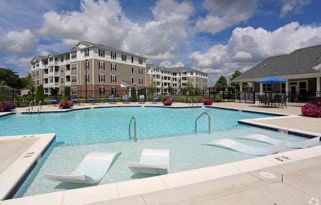 Relax by the Pool at Addison Court in Salisbury