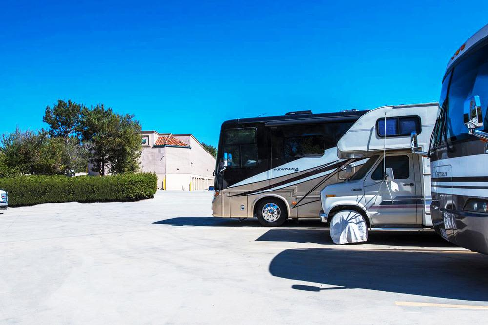 Store your RV securely with Olivenhain Self Storage.