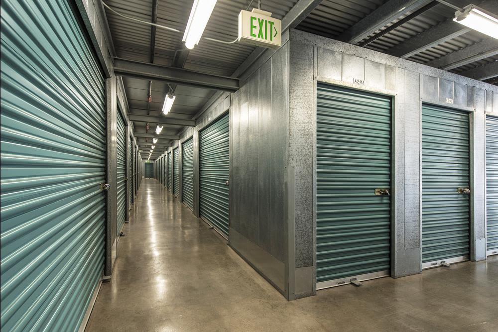 The interior and exterior of our facility at  Olivenhain Self Storage in Encinitas, CA, is immaculate.